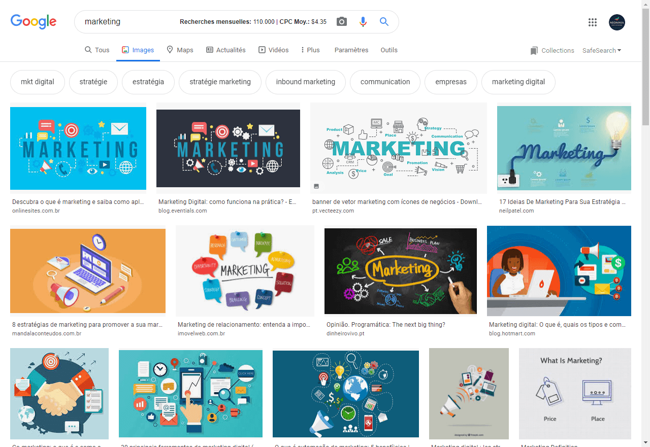 google image marketing