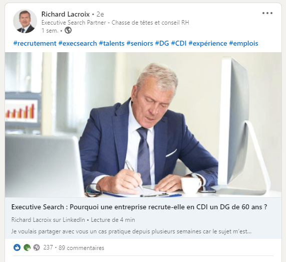 recrutement linkedin